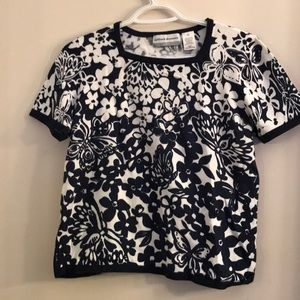 NWOT Alfred Dunner Knit Top